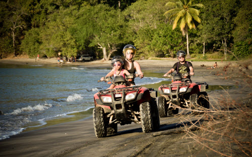 Zip Line, ATV and Snorkel Tour